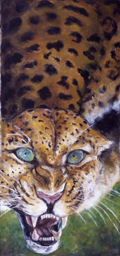 Artwork >> Joe Johnson >> leopard