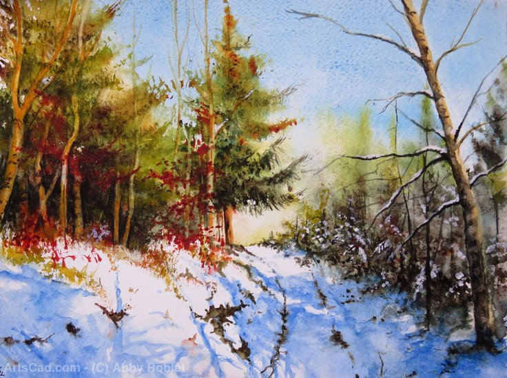 Artwork >> Abby Roblet >> Like snow