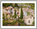 Marie-Claire Houmeau - The village from st Guilhem the wilderness