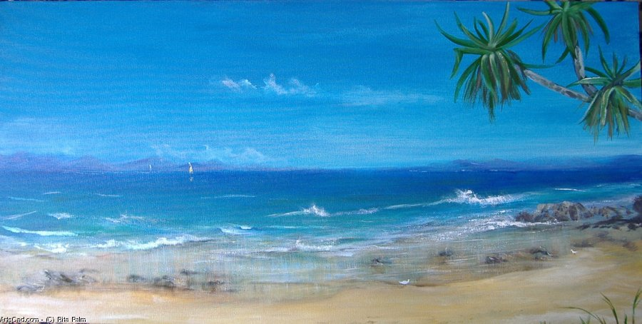 Artwork >> Rita Palm >> On the Beach