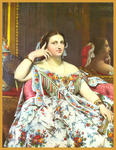 Classical Indian Art Gallery - By - J.A.Dominique Ingres - Print