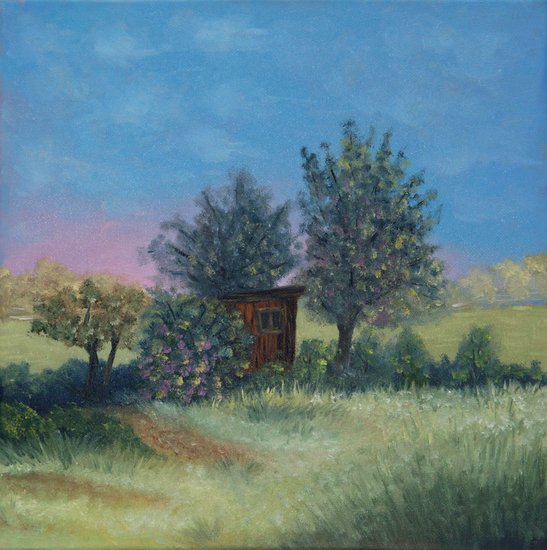 Artwork >> Elena Melnikova >> Summer House