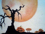Sidhe Forest - Creepy Pumpkin Patch