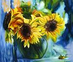 Yudin Yury - -Sunflowers-