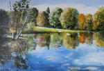 Guy Jacques Coq - Autumn Reflections