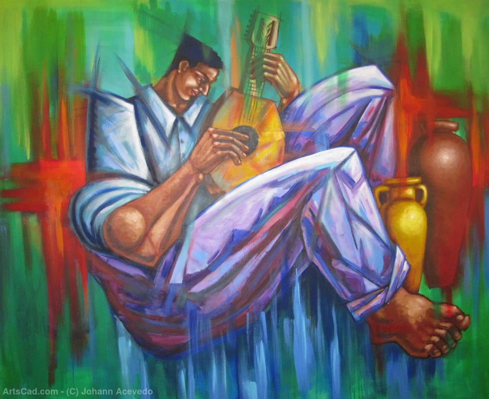 Artwork >> Johann Acevedo >> The Musician V