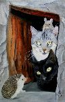 Chantal Rousselet - cats