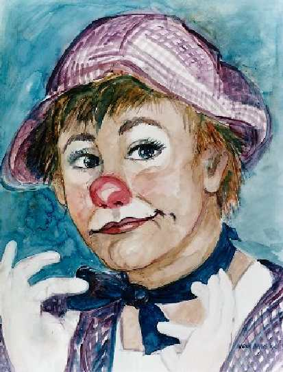 Artwork >> Marion Baars >> clown