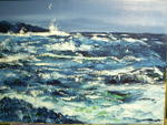 Yan Roggemans - Raging sea