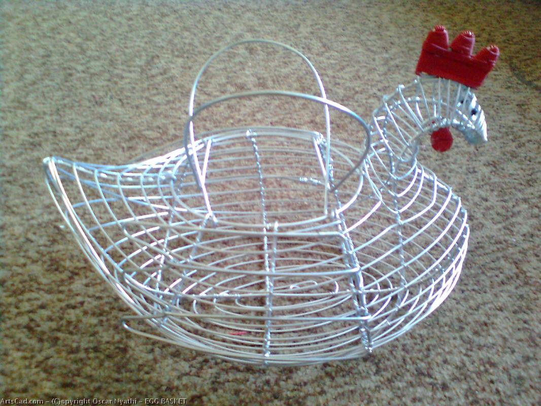 Artwork >> Oscar Nyathi >> EGG BASKET