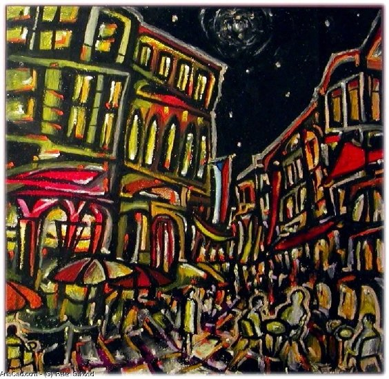 Artwork >> Peter Sukosd >> Night in Prague
