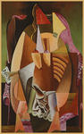Somnath Mookerjee - Woman In A Armchair