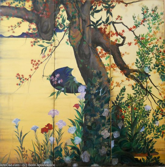 Artwork >> Sorin Apostolescu >> In the garden