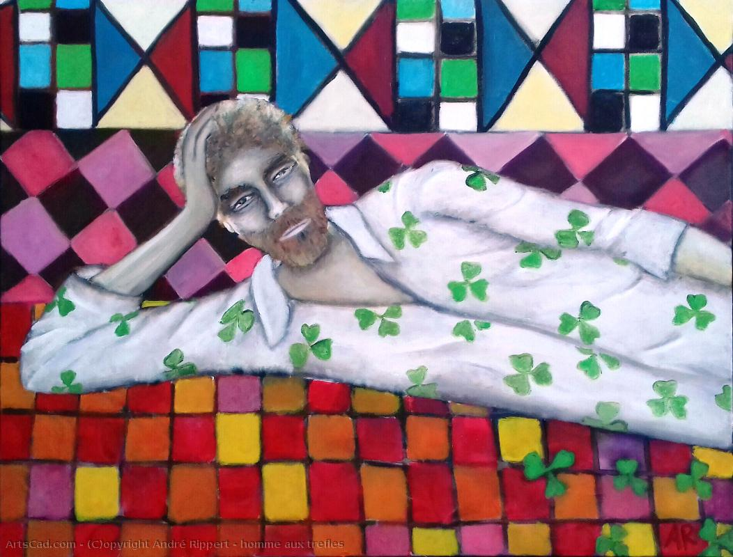 Artwork >> André Rippert >> male the clovers