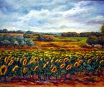 Remigio Megías García - Sunflowers