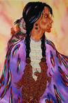 Troy David - -Sacagawea - Bird Woman-