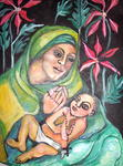 Ruth Olivar Millan - Cuca - Mother and Child