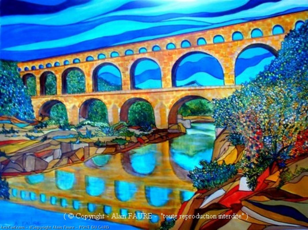 Artwork >> Alain Faure >> BRIDGE GARD