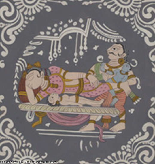 Artwork >> Classical Indian Art Gallery >> THE GREAT SWITCH