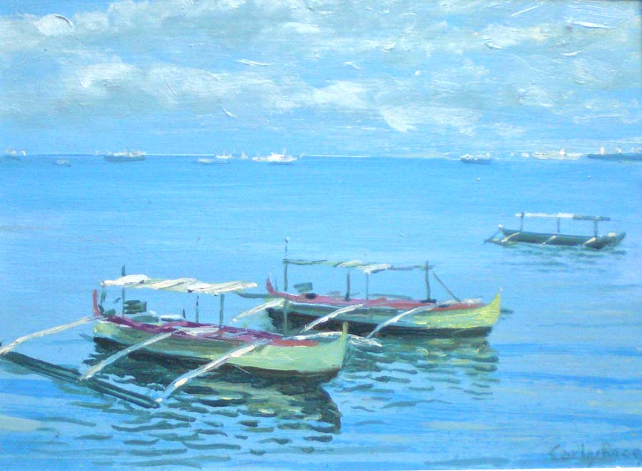Artwork >> Carlos Roces >> Bay of Manila