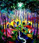 Eva Kudukhashvili - -cheremsha the woods--
