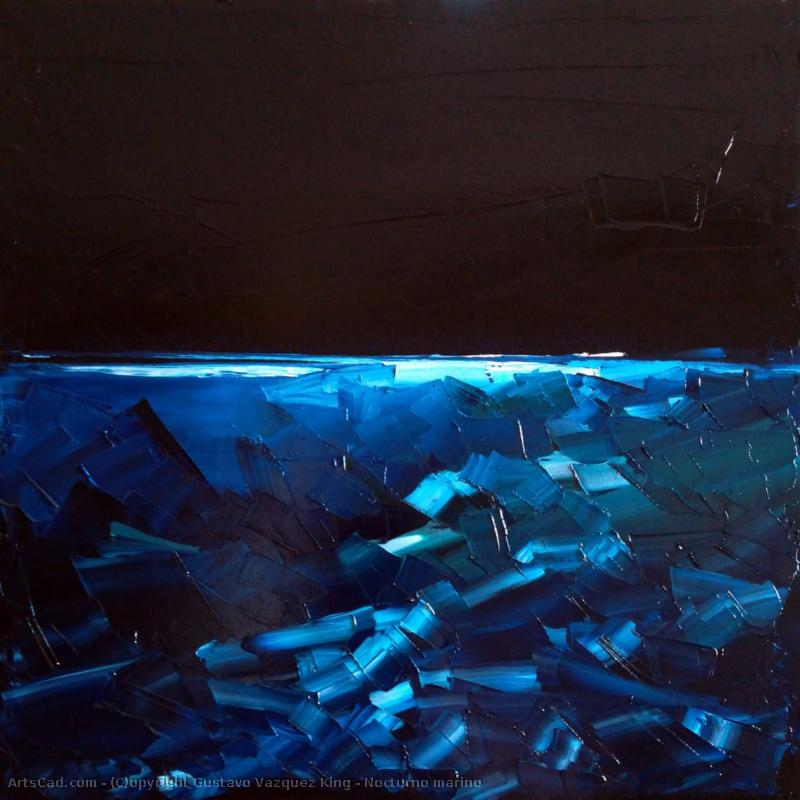Artwork >> Gustavo Vazquez King >> nightscape Marine