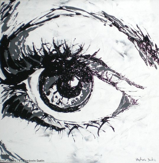 Artwork >> Stephanie Durbic >> The eye 5