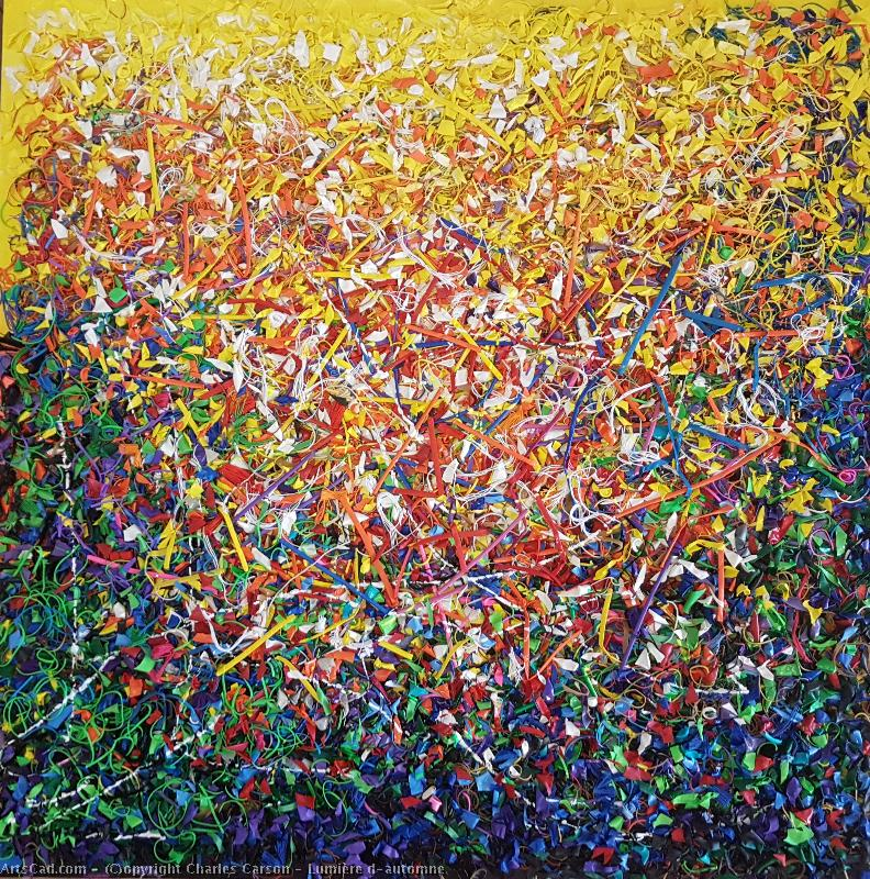 Artwork >> Charles Carson >> Light d'automne ( SOLD - SOLD. )