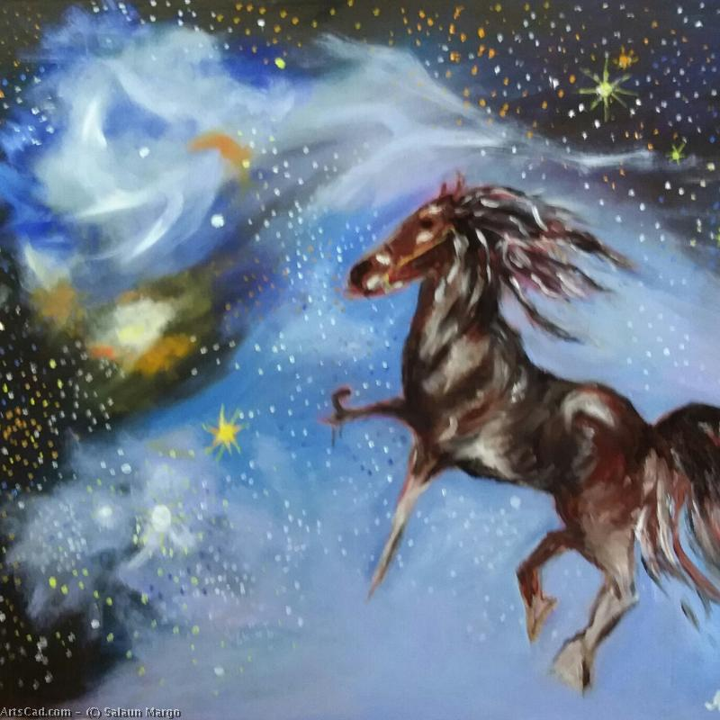 Artwork >> Salaun Margo >> Pegasus