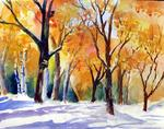 Annino-s Watercolors - Early Snow