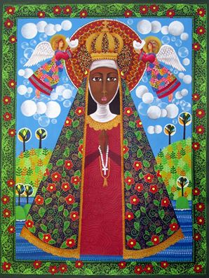 Artwork >> Cristiane Campos >> our lady Aparecida