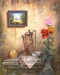 Alexander Boreyko - Still life with picture