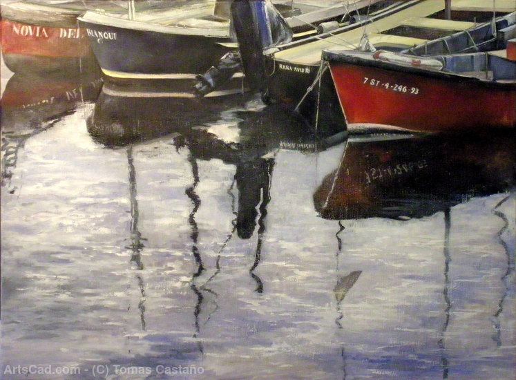 Artwork >> Tomas Castaño >> Boats in puertochico