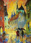 Vladimir Domnicev - The rain in Prague.