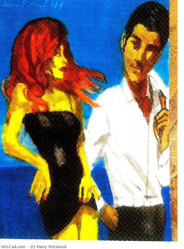 Artwork >> Harry Weisburd >> Red Head Looking For Mr Right