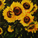 Cristina Benevides Legault - Bouquet of Sunflowers