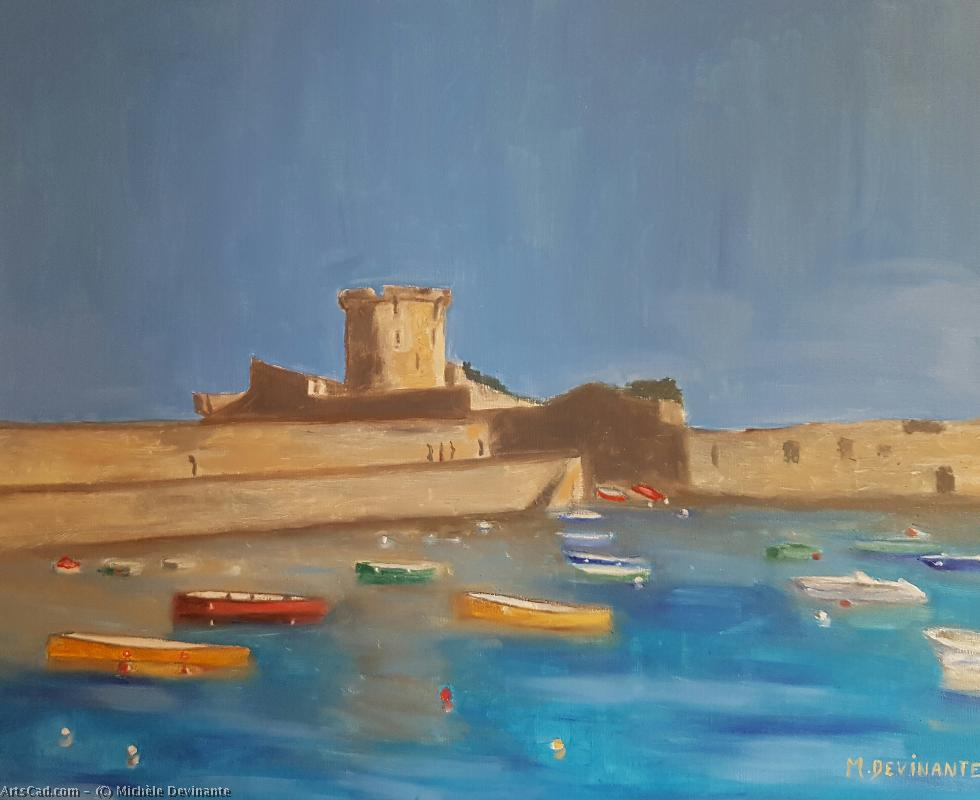 Artwork >> Michèle Devinante >> THE FORT OF SOCOA