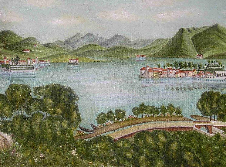 Artwork >> Arzoumanian Anais >> Lake Como 1