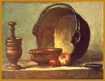 Classical Indian Art Gallery - By - J.B.S. Chardin - Print