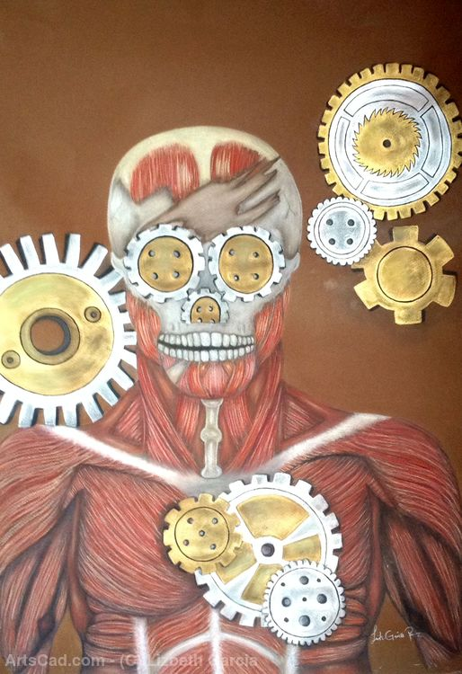 Artwork >> Lizbeth Garcia >> Machinery