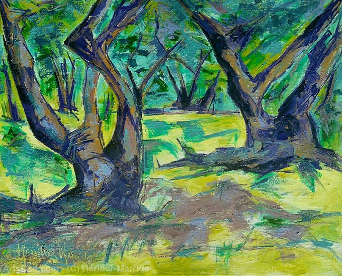 Artwork >> Heritier-Marrida >> olive trees
