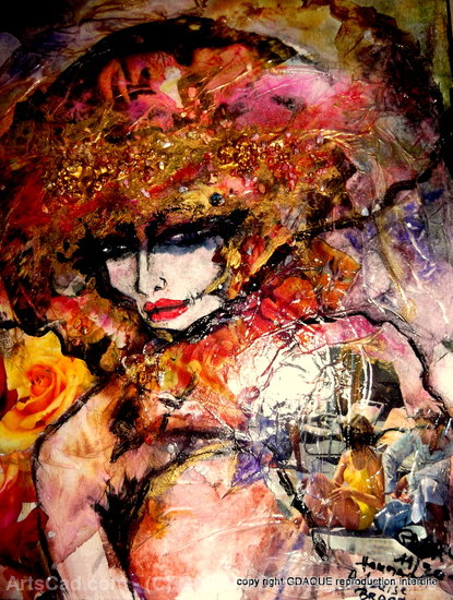 Artwork >> Guillard Dominique Gdaque >> foolish to alissas: louise (sold out)