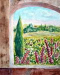 Lise Cormier - A nice day garden of l-Alhambra