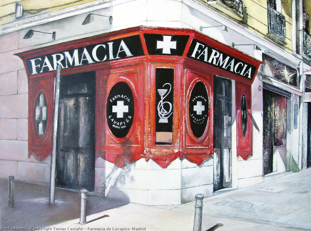 Artwork >> Tomas Castaño >> Pharmacy of Lavapies-Madrid