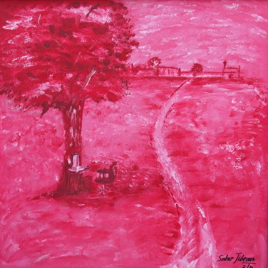 Artwork >> Sahir Jibran >> VIEW OF JAND