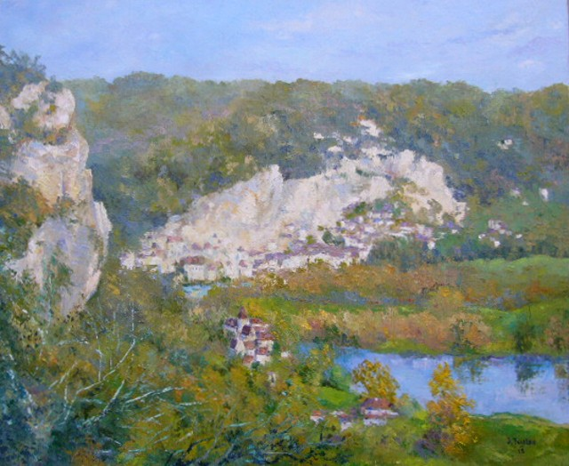 Artwork >> Jacques Fontan >> La Roque Gageac
