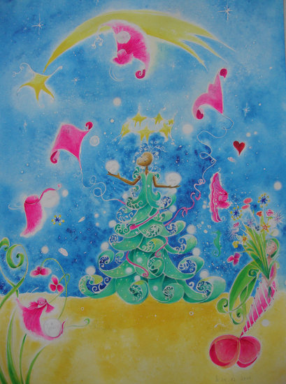 Artwork >> Rosy- Line >> Sweet illusion of Christmas