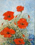 Catherine Thivrier-Forestier - Poppies in