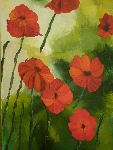 Maryaude Passion Tardive - Poppies in