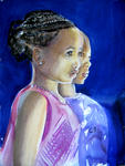 Inspirational Paintings - African Faces